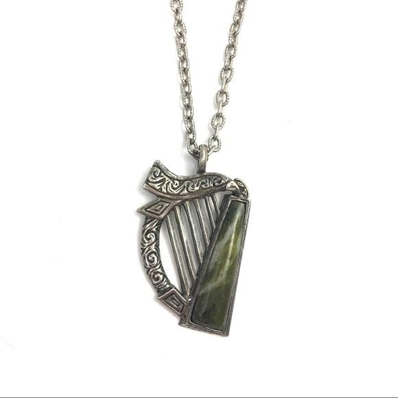 Vintage jewelry sol dor celtic harp pendant necklace poshmark vintage sol dor celtic harp pendant necklace aloadofball Gallery